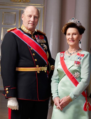 Norway/s King Harald & Queen Sonja